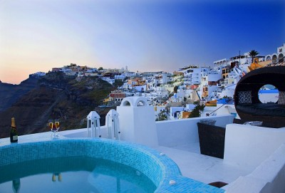 Blue Angel Villa, Santorini