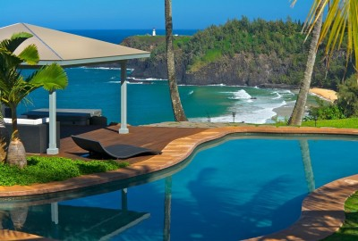 Dali Hale Estate on Secret Beach, Hawaii