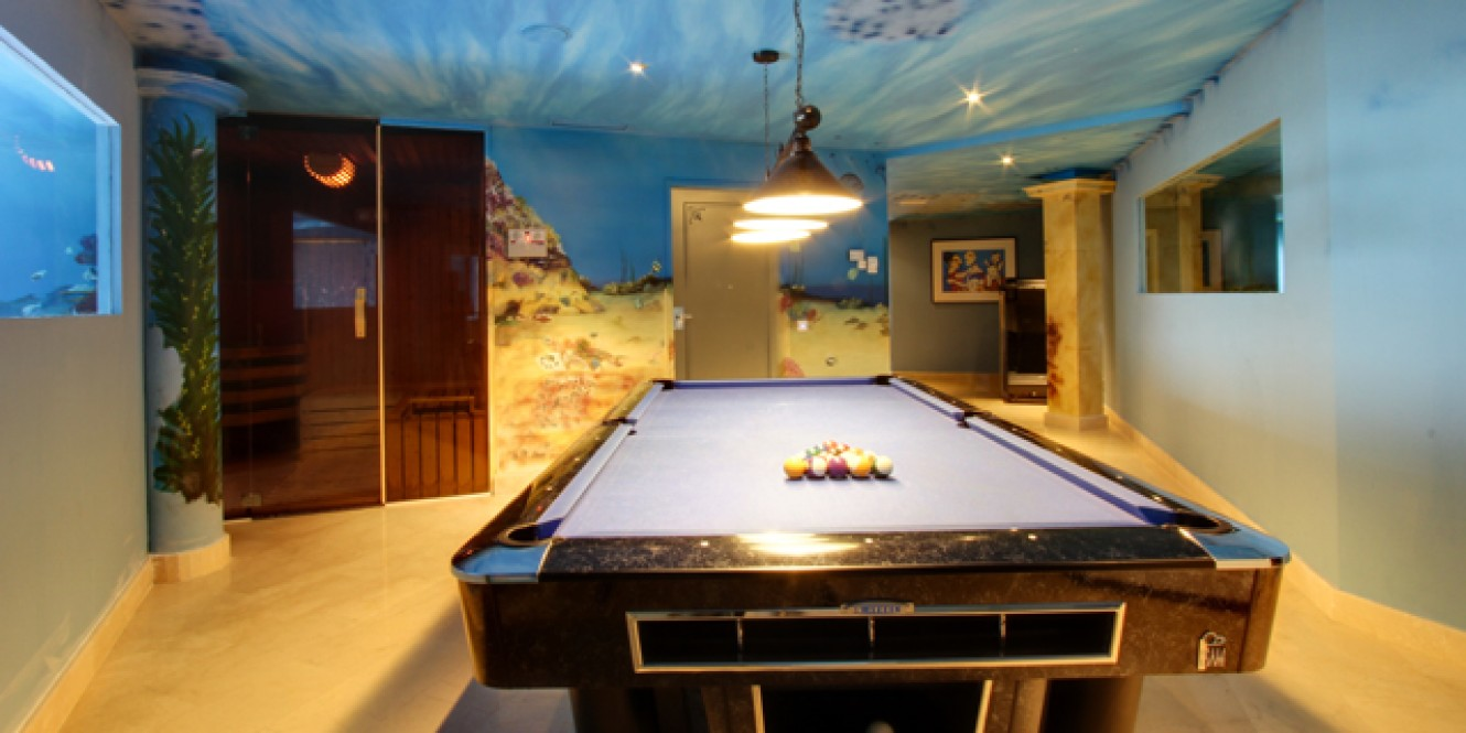 28. Pool Table  Lower Ground Floor