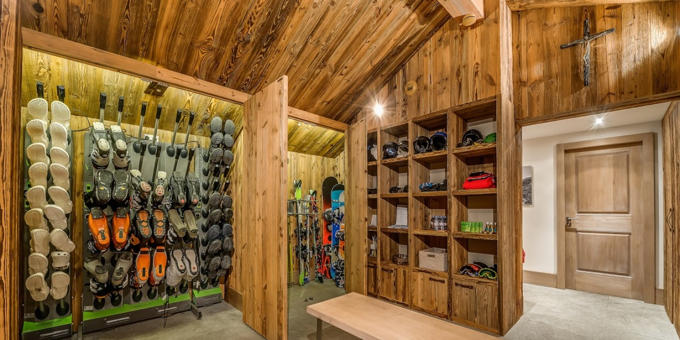 Mont Tremblant Boot Room